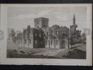 Drinkburn Priory, 1825. $75.