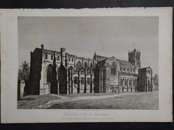 Christ-Church Priory, 1820. $75.
