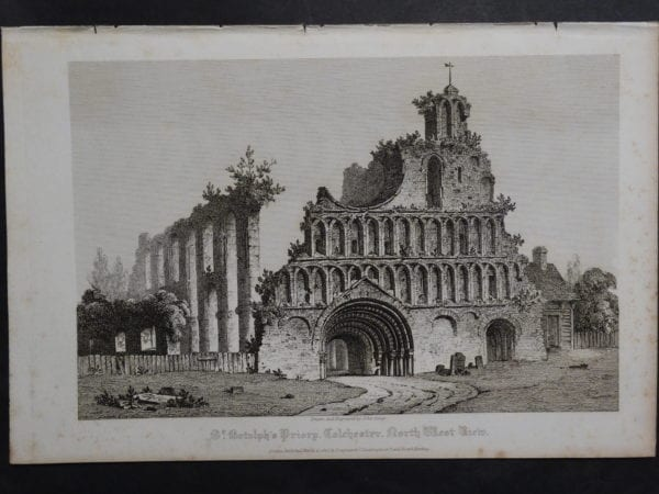 St. Bishop's Priory, 1820. $75.