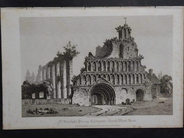 St. Bishop's Priory, 1820. $75.