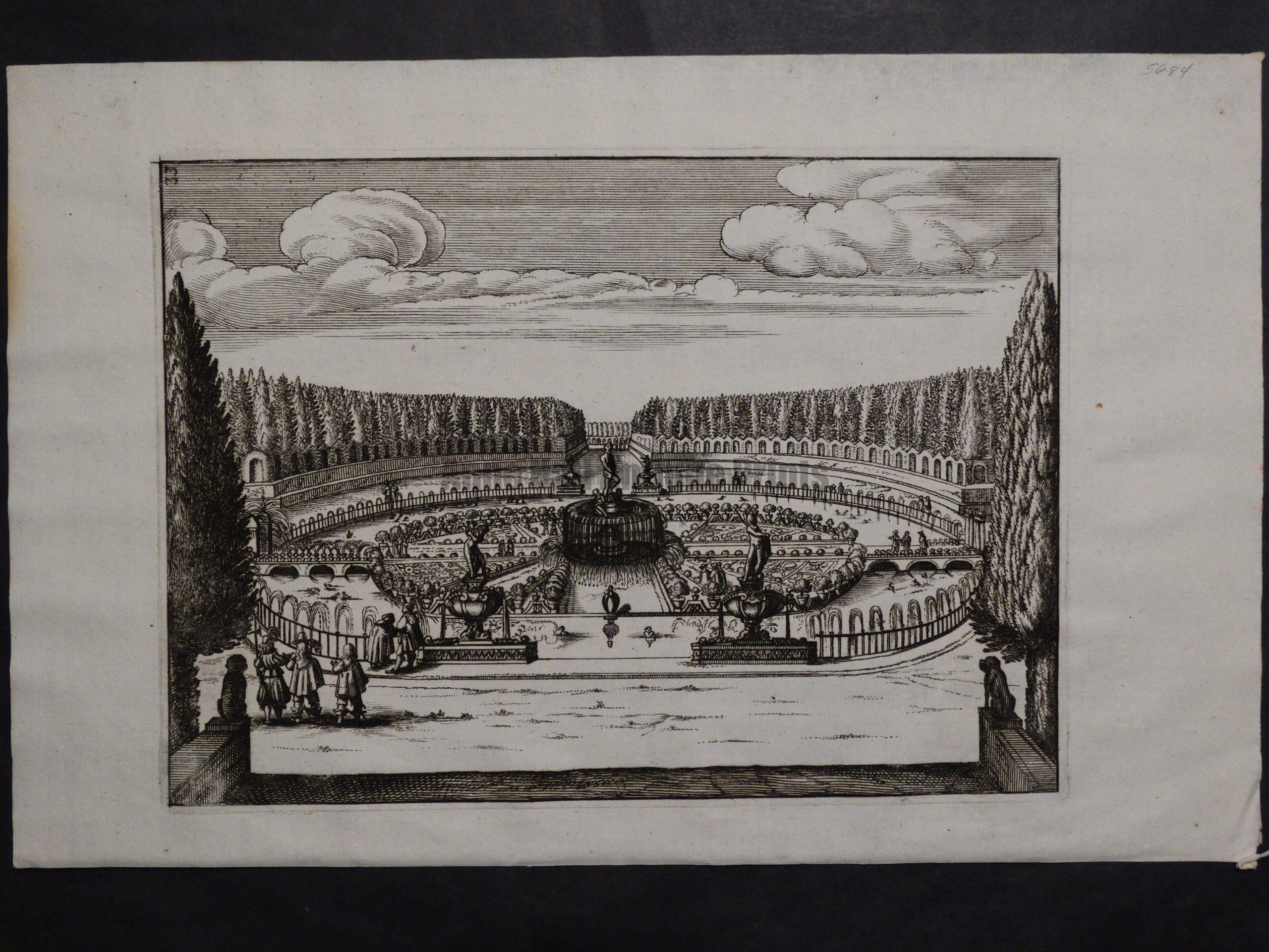 Italian Garden Print, c.1770(1). $75.
