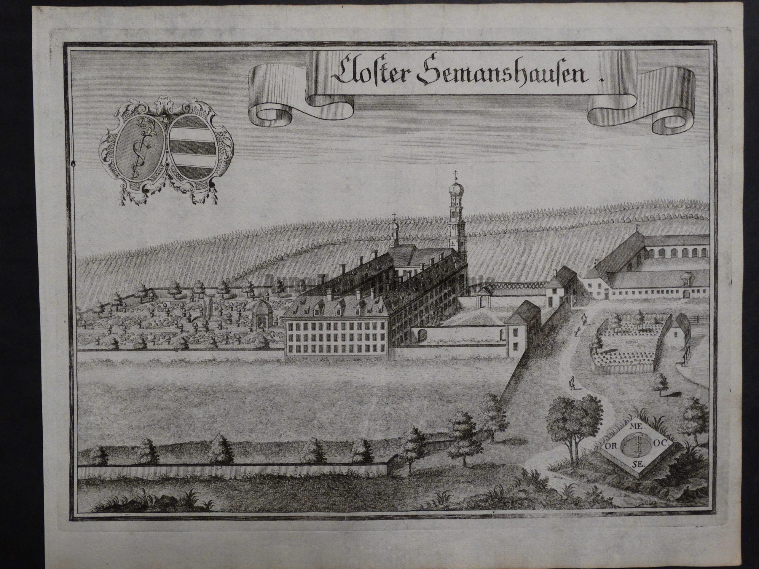 Werning Bavaria Rare Castle Engraving 1703(3). $300.