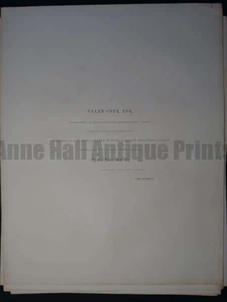 Text To Victoria Regia Credits & Dedication to Caleb Cope