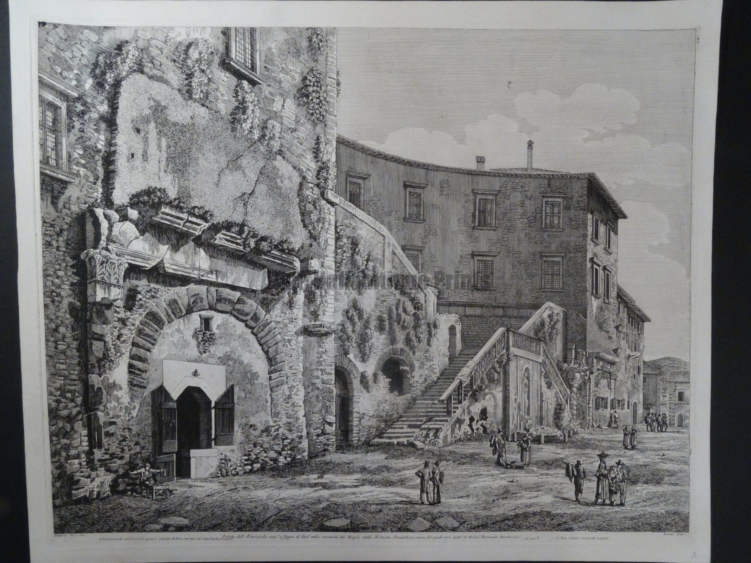 Emiciclo, Roma 1826