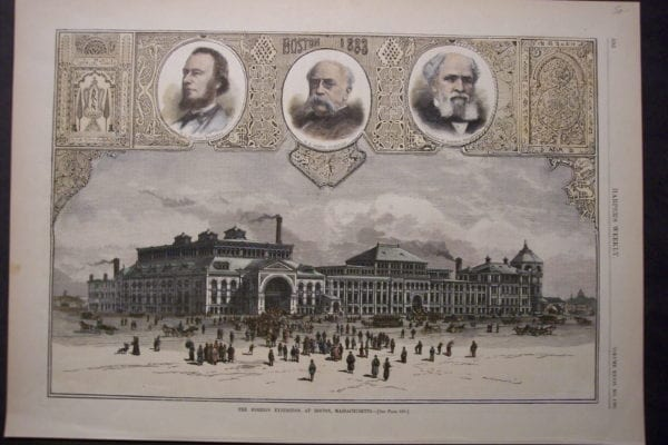 The Foreign Exhibition at Boston, Massachusetts, August 25, 1883. $50.