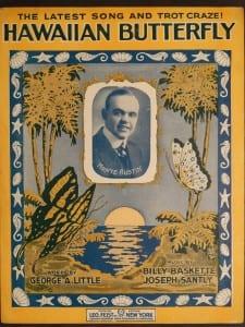 Hawaiian Butterfly, 1917.