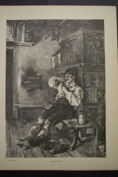 I and My Pipe, 1876. $15.