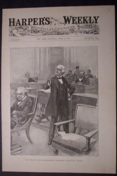 The Senator from Massachusetts Interrupts, April 10, 1897. $60.
