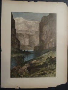 Marble Canyon, 1873. $35.