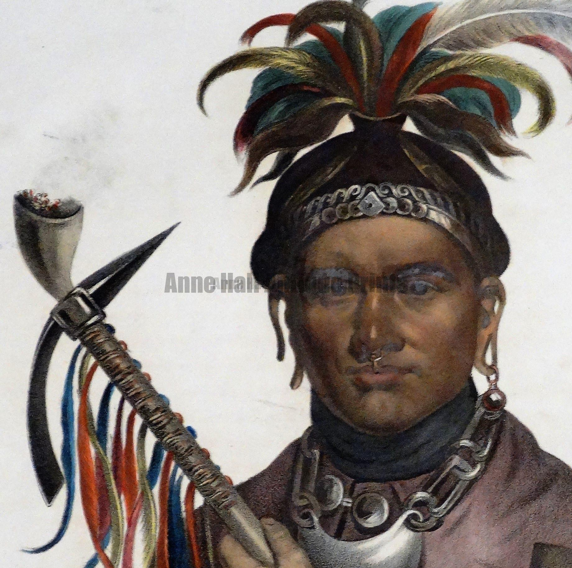 We are the rare print dealers with the great collection of Antique American Indian Prints.
