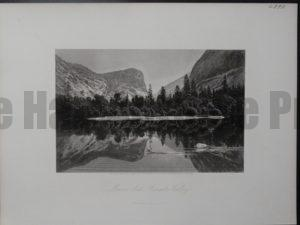 Mirror Lake Yosemite Valley, 1872. $75.