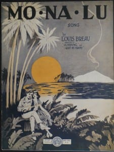 Monalu, 1922.