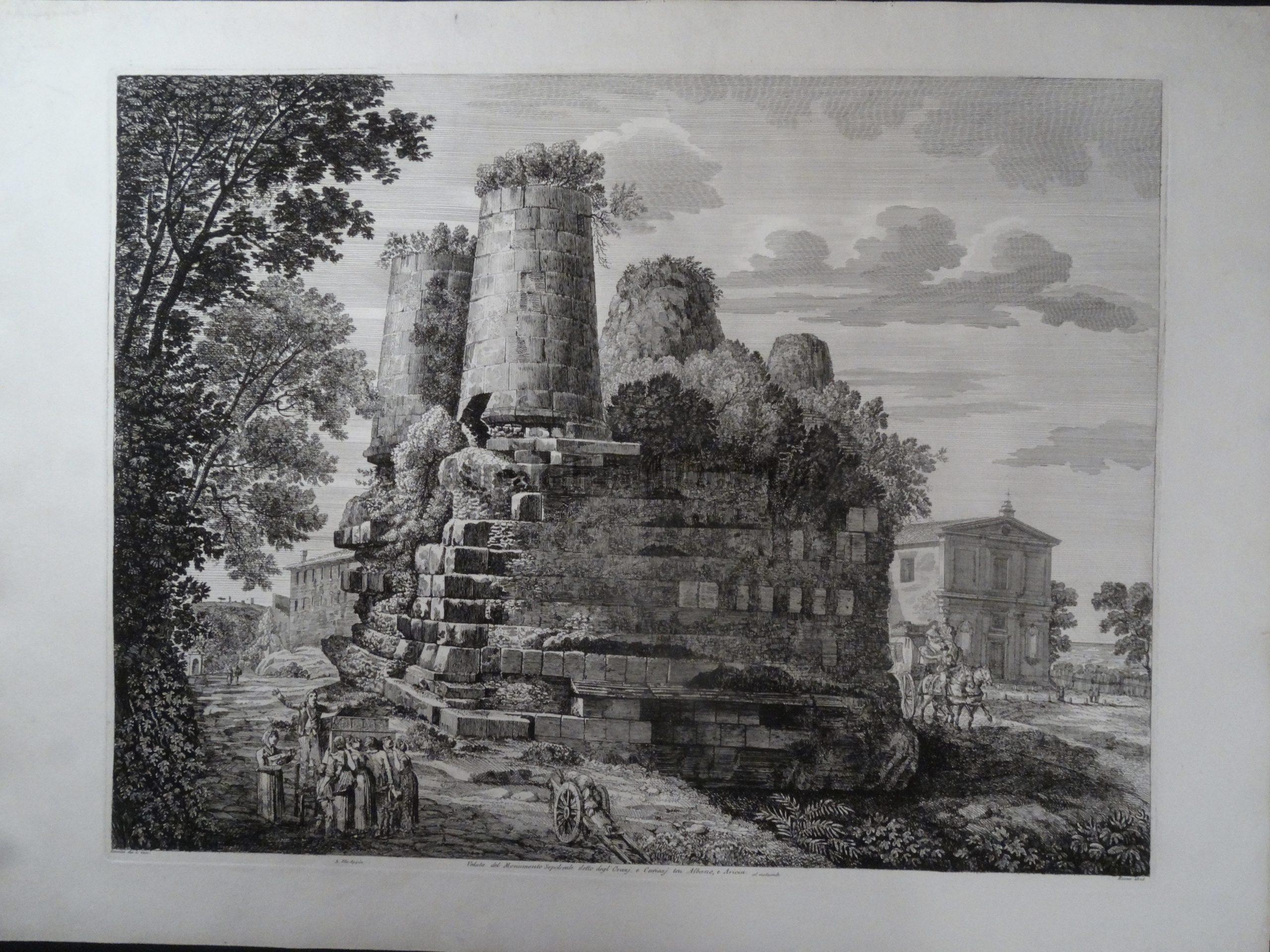 Monumento Sepolerale, Roma 1825