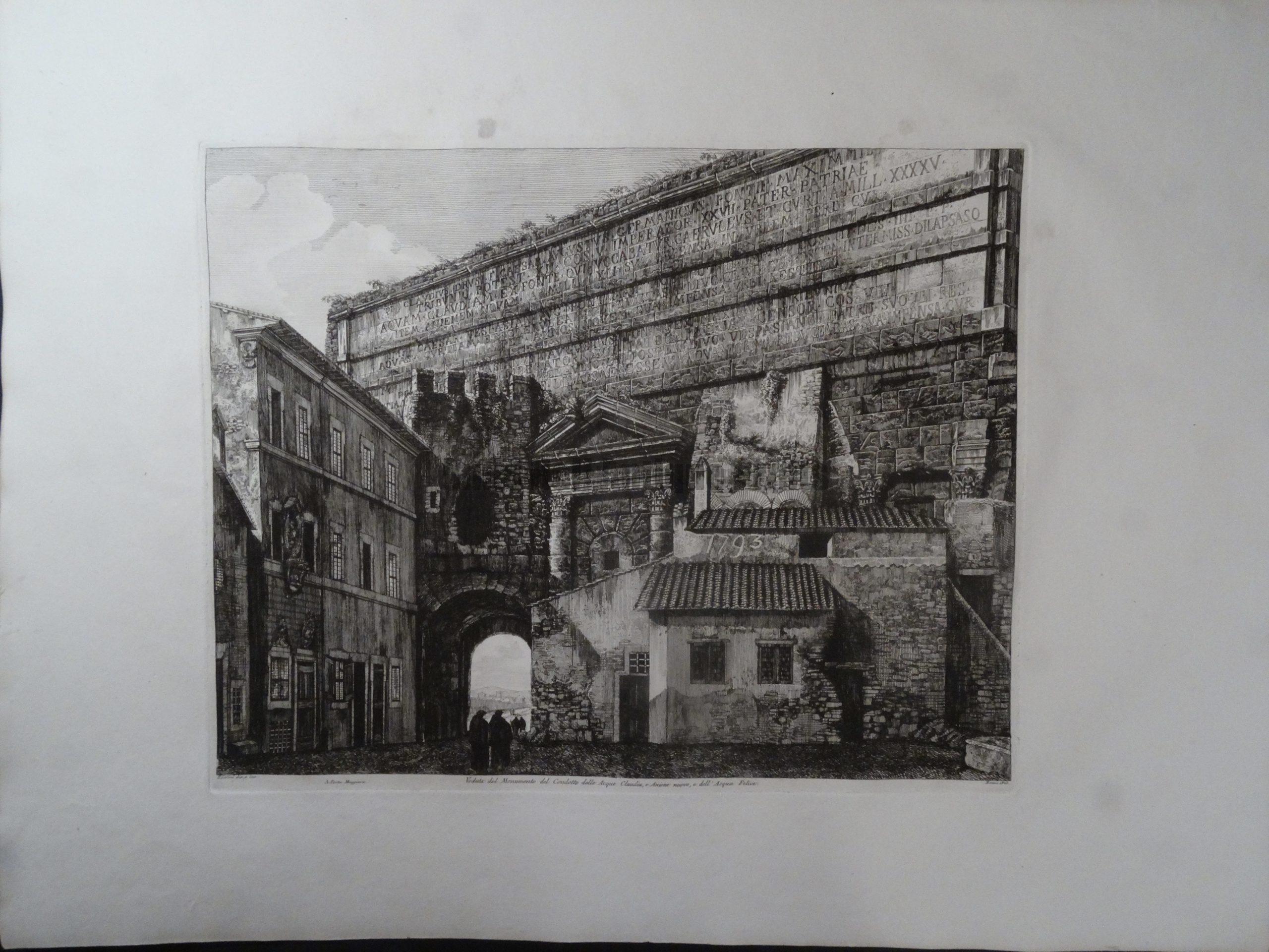 Monumento del Condotto, Roma 1823