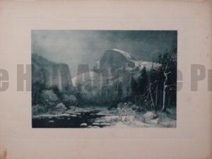 Mountain at Yosemite c.1890. $60.