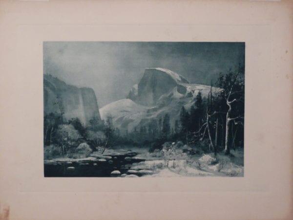 Yosemite Valley, Half Dome and Merced River Picturesque California 1888