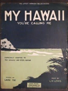 My Hawaii, 1917.