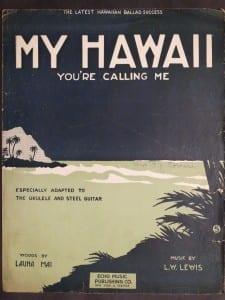 My Hawaii, 1917.