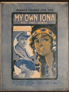 My Own Iona, 1916.