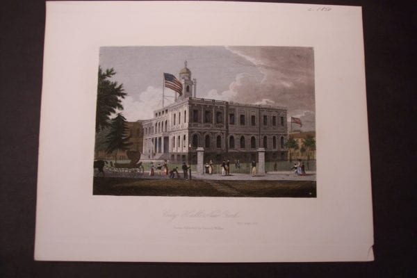 NY City Hall c.1850