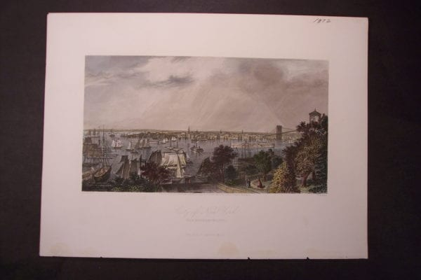 NY, City of Ney York from Brooklyn Heights 1872