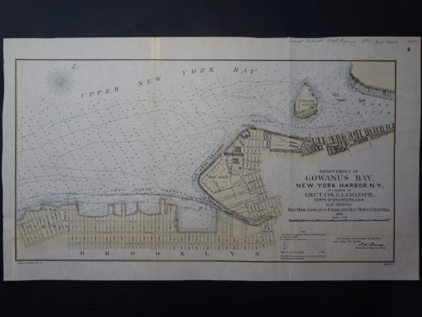 Attractive historic map of Red Hook, New York.