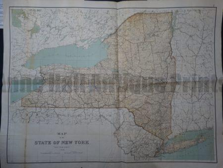NY Map 7 Julius Bien State of New York (Oversized). $225. Click Here to Buy Now.