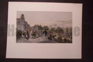 NY, The Terrace Central Park 1872