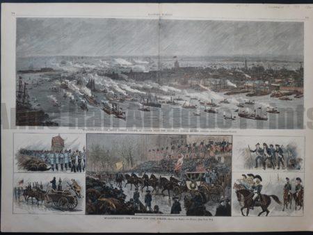 NY102 Evacuation Day 1883 $150 Click Here to Buy Now.