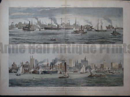 NY103 New York Skyscrapers 1897 $200 Click Here to Buy Now.