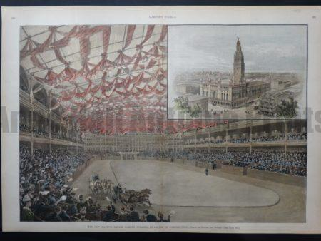 NY106 The New Madison Square Garden 1890 $175 Click Here to Buy Now.