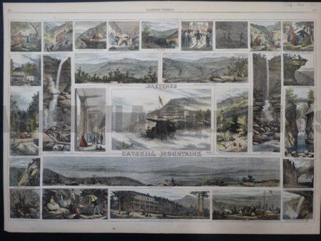 NY107 Sketches Among The Catskill Mountains 1866 $200 Click Here to Buy Now.