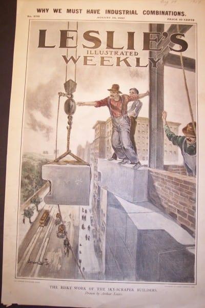 NYC, Sky Scraper, August 29, 1907 $85.