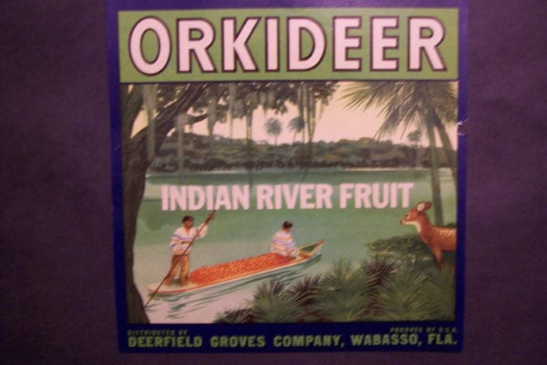 Orkideer Label, c.1930. $30.