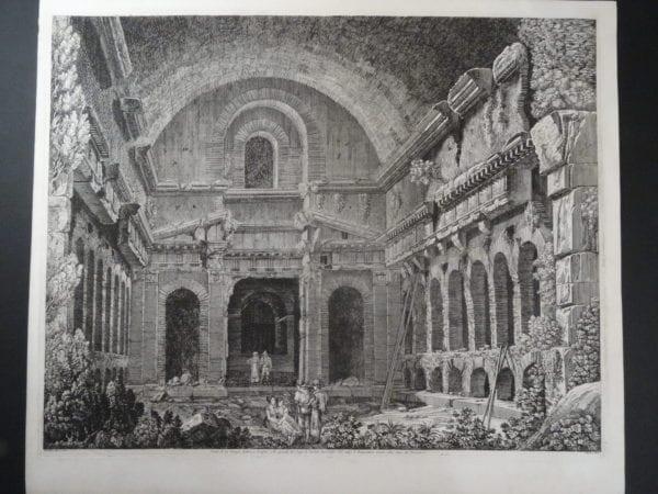 Tempio Antico, Roma 1826