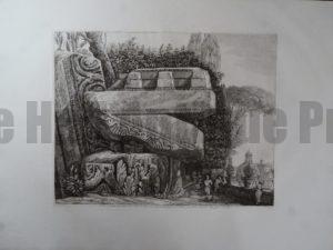 Tempio di Giove, Roma 1820