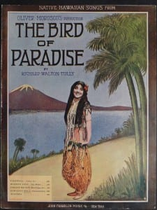 The Bird of Paradise, 1912.