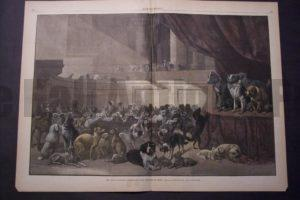 The Dog Congress-Candidates for the Bench Show, May 22, 1880. $150.