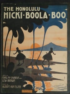 The Honolulu Hicki Boola Boo, 1916.