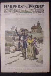 Harper's Weekly front page, Captain Lattamore, December, 9, 1893. $125.