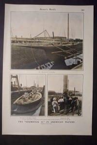 The Shamrock II in American Waters, c.1900. $60.