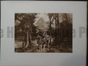 The Tetons, c.1890. $75.