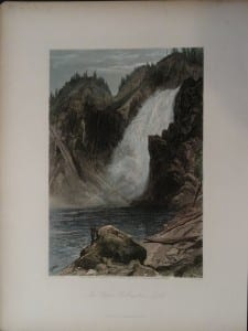 The Upper Yellowstone Falls, 1873. $75.
