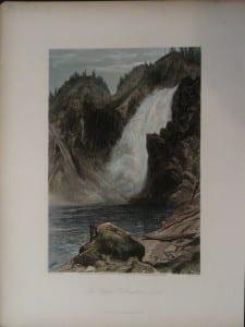 The Upper Yellowstone Falls, 1873. $75.