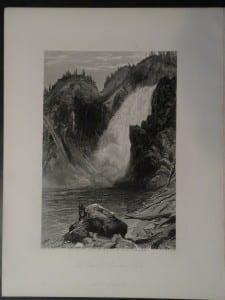 The Upper Yellowstone Falls, 1873. $60.