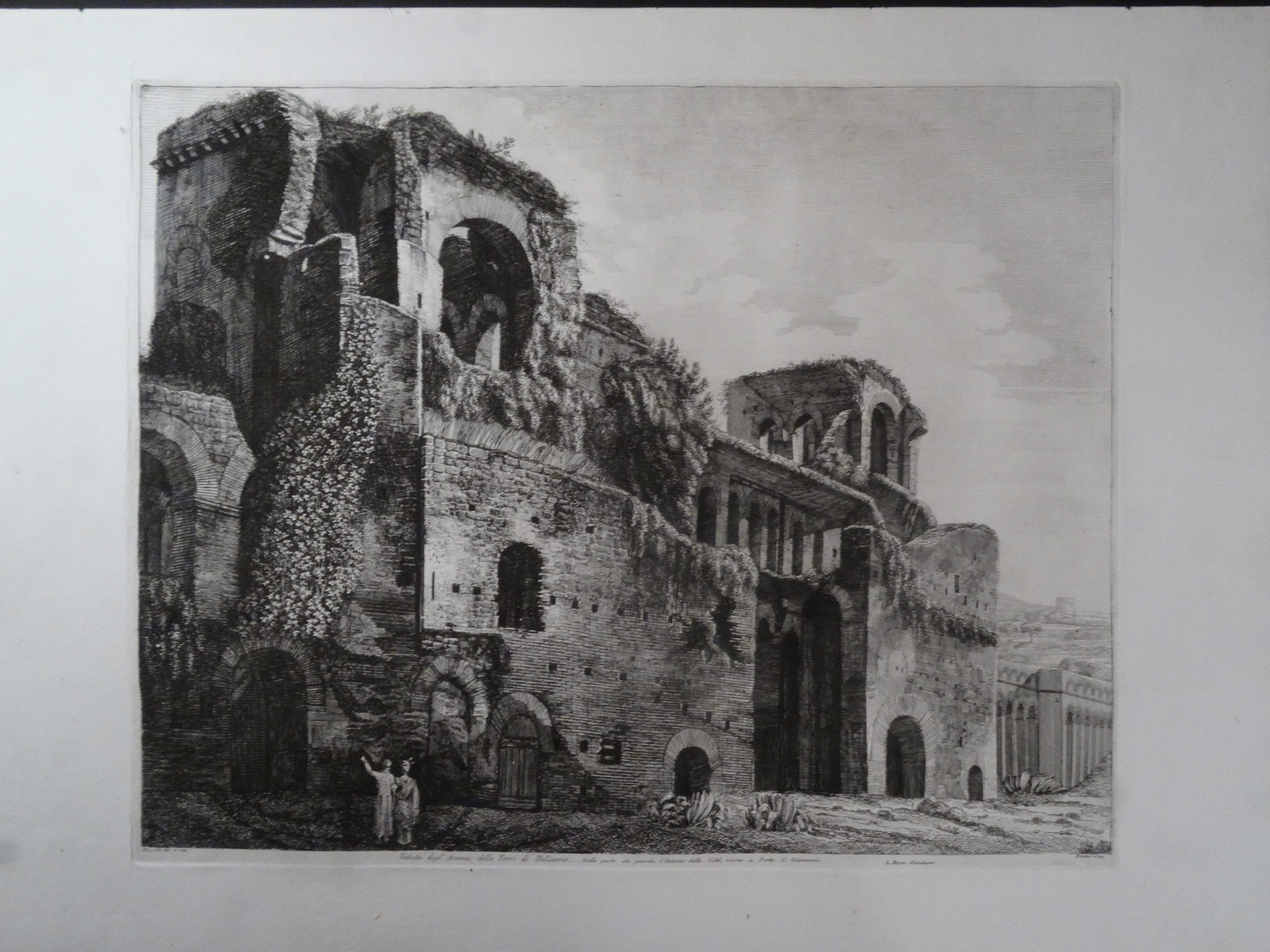 Tori de Belisario, Roma 1822