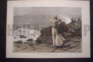 Watching the Yacht-Race, 1897. $60.