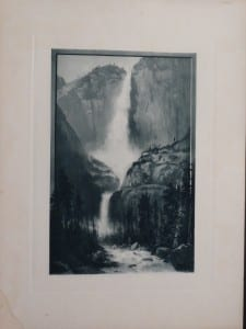 Waterfall at Yellowstone, 1873. $60.