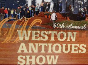 come to the weston antiques show