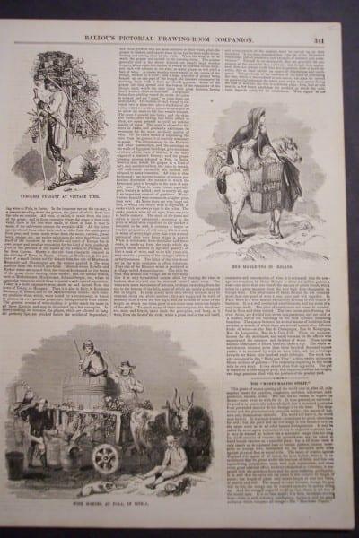 Ballou's Article(1), 1856 $75.